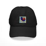 Impressionist Gamecock Black Cap