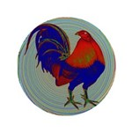 """Impressionist Gamecock 3.5"""" Button (100 pack)"""