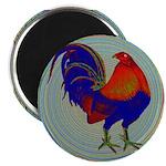 "Impressionist Gamecock 2.25"" Magnet (100 pack"