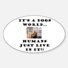 Dogs World Decal