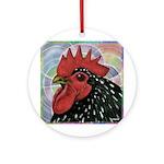 Cochin Head Ornament (Round)