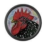 Cochin Head Large Wall Clock