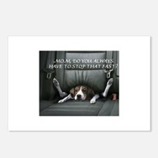 Dogs World Postcards (Package of 8)