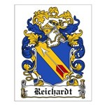 Reichardt Coat of Arms Small Poster