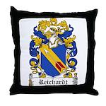 Reichardt Coat of Arms Throw Pillow