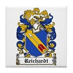 Reichardt Coat of Arms Tile Coaster