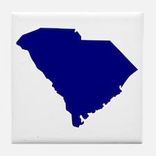 South Carolina Tile Coaster
