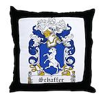Schaffer Coat of Arms Throw Pillow