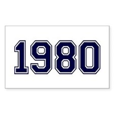 1980 Decal