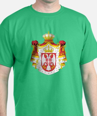 Serbia Coat of Arms (Front) T-Shirt