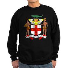Jamaica Coat of Arms (Front) Sweatshirt