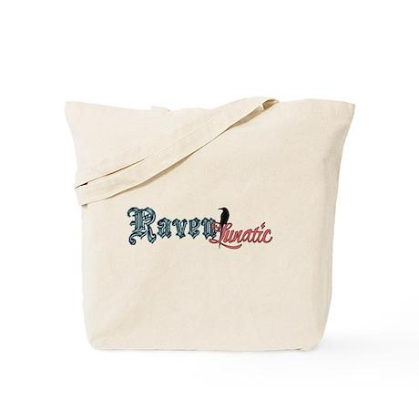 Raven Lunatic Tote Bag