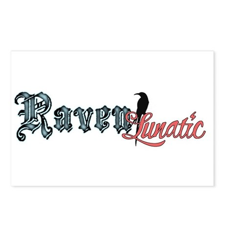 Raven Lunatic Postcards (Package of 8)
