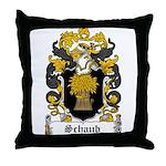 Schaub Coat of Arms Throw Pillow