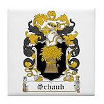 Schaub Coat of Arms Tile Coaster
