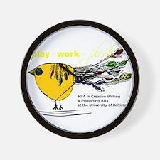 Plork Bird Wall Clock