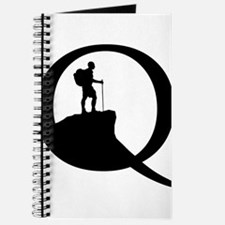 Our original logo on a Journal