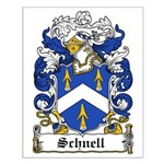 Schnell Coat of Arms Small Poster