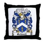 Schnell Coat of Arms Throw Pillow