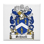 Schnell Coat of Arms Tile Coaster