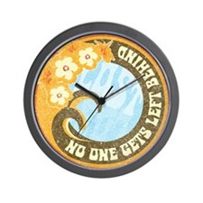 No One Gets Left Behind Wall Clock