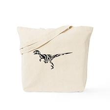 Tribal Raptor Tote Bag