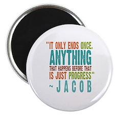 Lost Jacob Progress Magnet