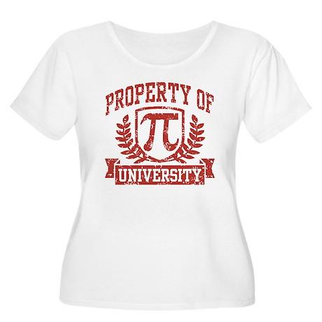 Property of Pi University Women's Plus Size Scoop
