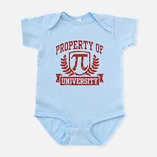 Property of Pi University Infant Bodysuit