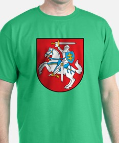 Lithuania Coat of Arms (Front) T-Shirt