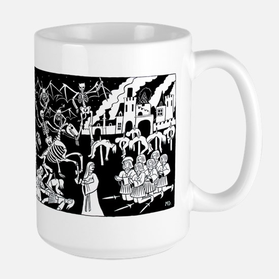 Triumph of Death Large Mug