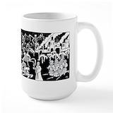 Satanic Large Mugs (15 oz)