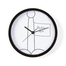 Unique Mickey Wall Clock