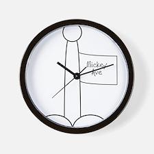 Cute Dyslexics Wall Clock