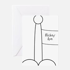 Unique Mickey Greeting Card
