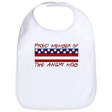 Proud Member Angry Mob Bib