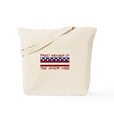 Proud Member Angry Mob Tote Bag