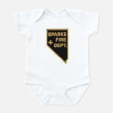 Sparks Nevada Fire Department Infant Bodysuit