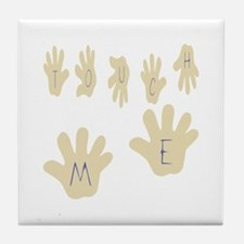 Touch Me Tile Coaster