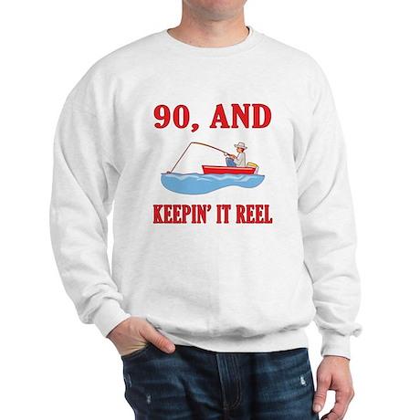 90 And Keepin' It Reel Sweatshirt