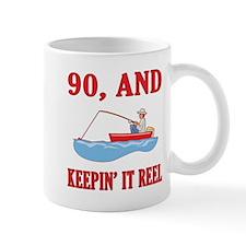 90 And Keepin' It Reel Mug