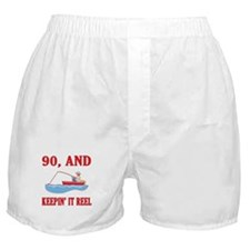 90 And Keepin' It Reel Boxer Shorts