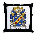 Voight Coat of Arms Throw Pillow