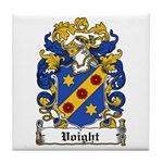 Voight Coat of Arms Tile Coaster