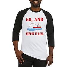 60 And Keepin' It Reel Baseball Jersey