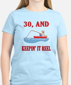 30 And Keepin' It Reel T-Shirt