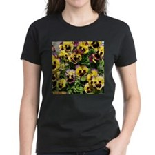 Fizzy Lemonberry Pansies Women's T-shirt