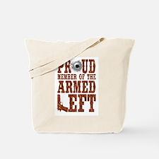 Armed Left Tote Bag