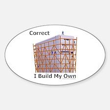 PC Builders Sticker (Oval)