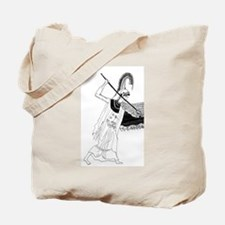 Athena vase drawing Tote Bag